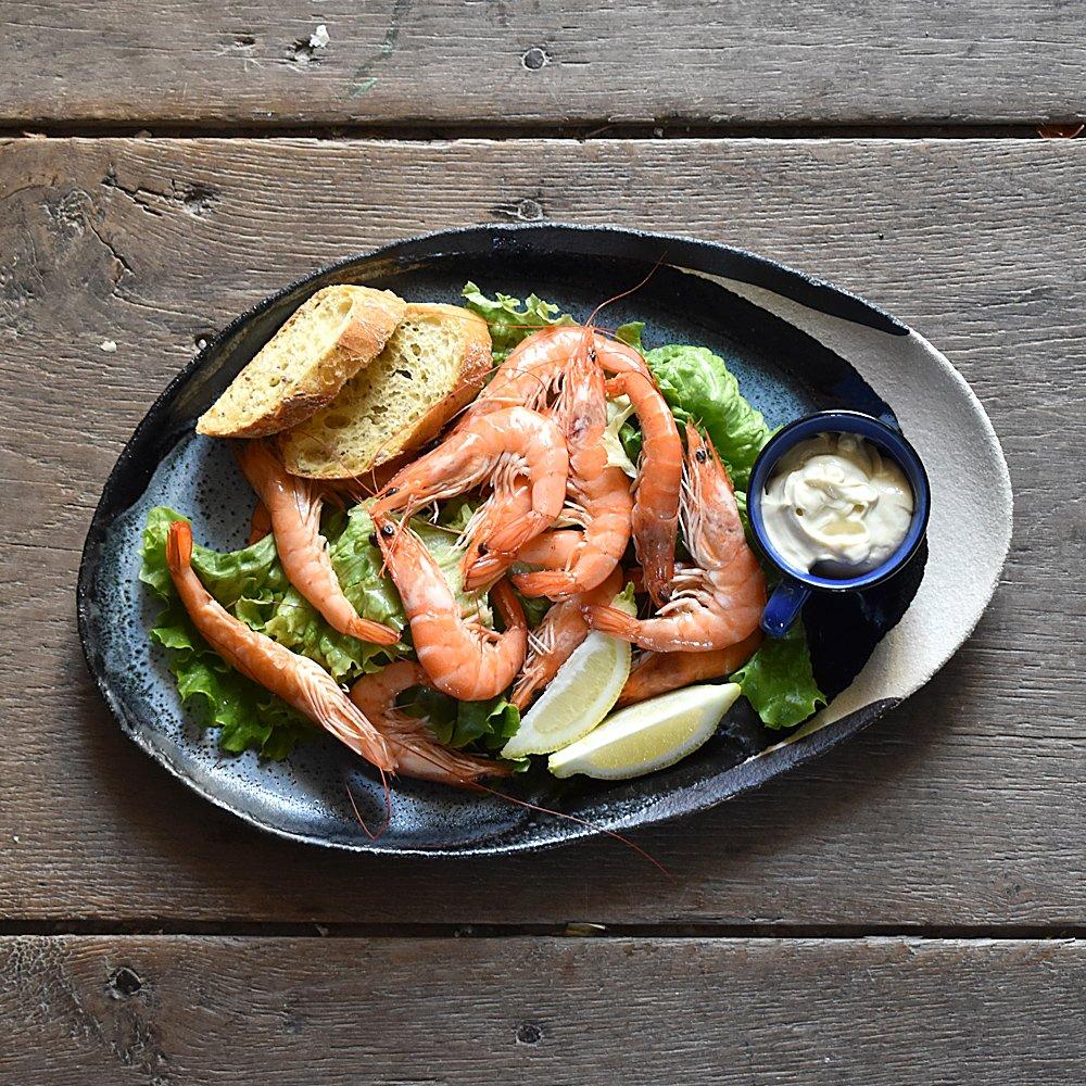 Crevettes au Manoir Beaulieu